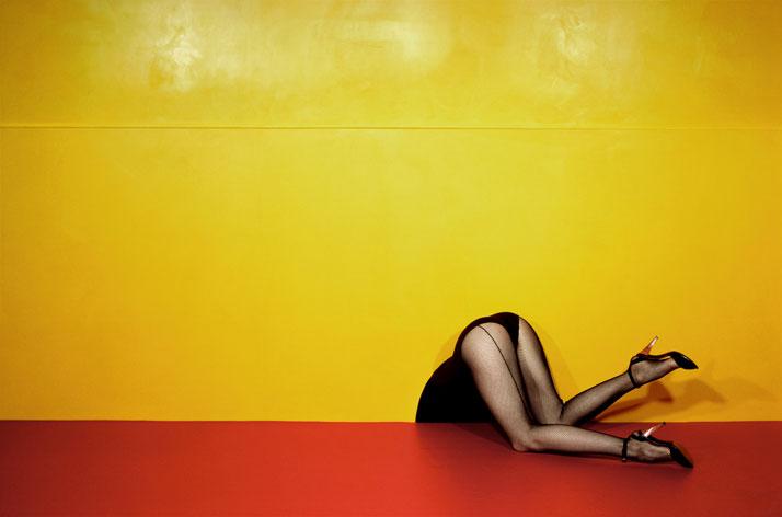 Charles Jourdan, Spring 1979 ©Guy Bourdin.