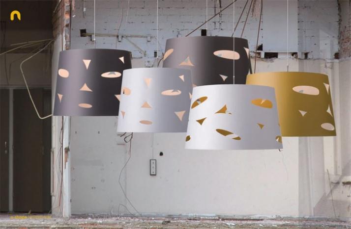 o-shape lampshade