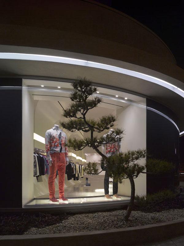 New Alexander McQueen store in Los Angeles