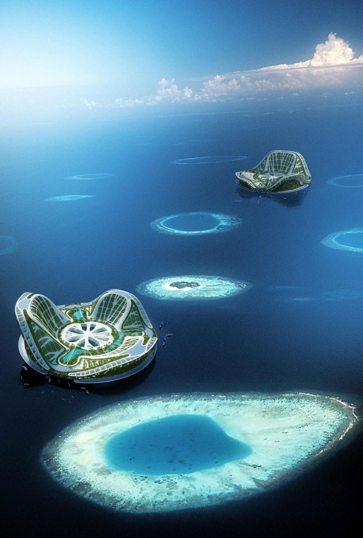 LILYPAD A FLOATING ECOPOLIS FOR CLIMATICAL REFUGEES 2100 A Large