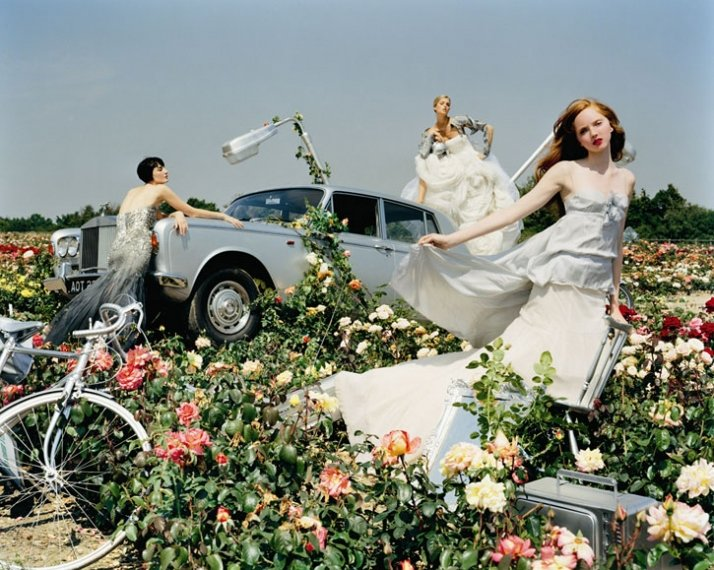 © TIM WALKER PICTURES, Erin O'Connor, Jacquetta Wheeler and Lily Cole, Colchester, Essex, England, 2004, British Vogue, Photo © 2007 Tim Walker. All r