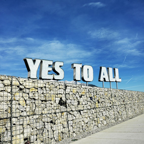 Yes to All by Sylvie Fleury | YatzerSylvie Fleury Yes To All