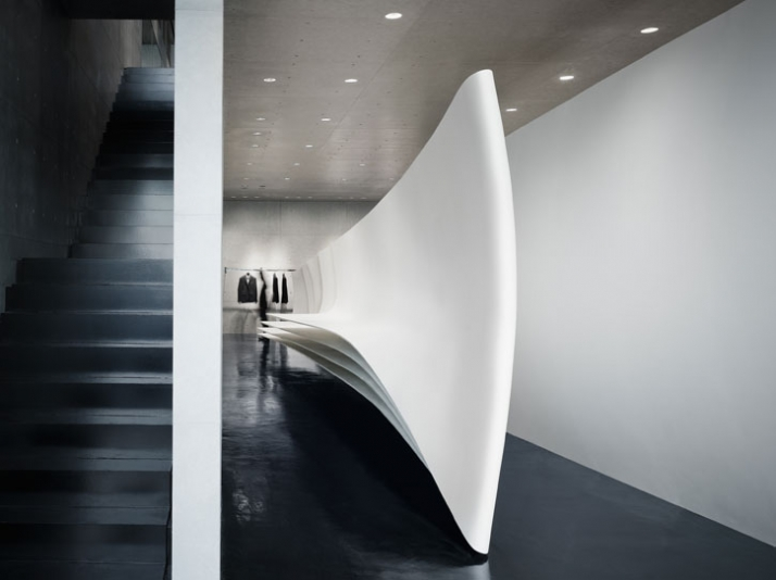 Neil Barrett Flagship Store By Zaha Hadid Architects In Tokyo | Yatzer