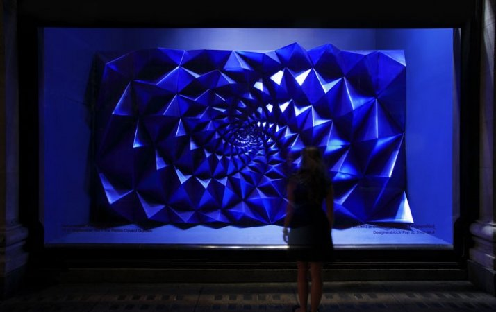 The Apifera window installation by Matthew Plummer Fernandez