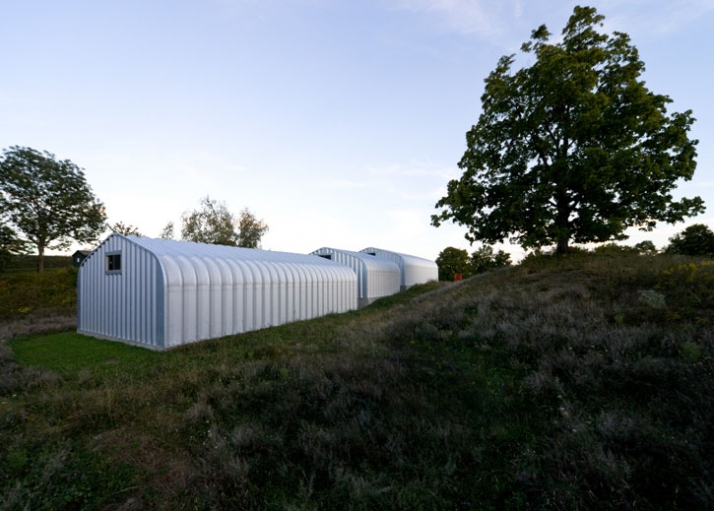 exterior view of ArtFarm / © HHF architects / photo: Iwan Baan