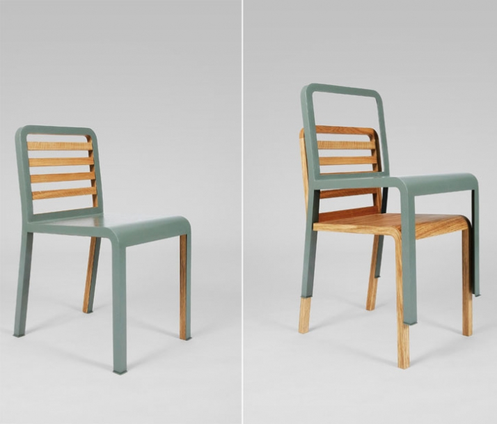 Twin Chair By Philippe Nigro For Via Yatzer