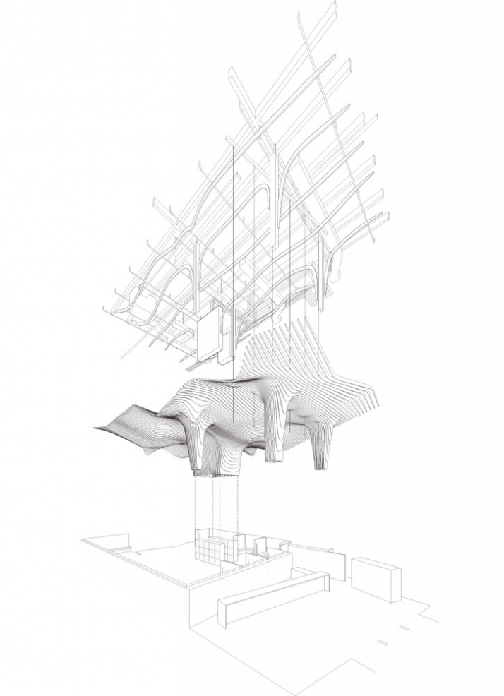 office da architects. Exploded Perspective By Office DA Architects Da B