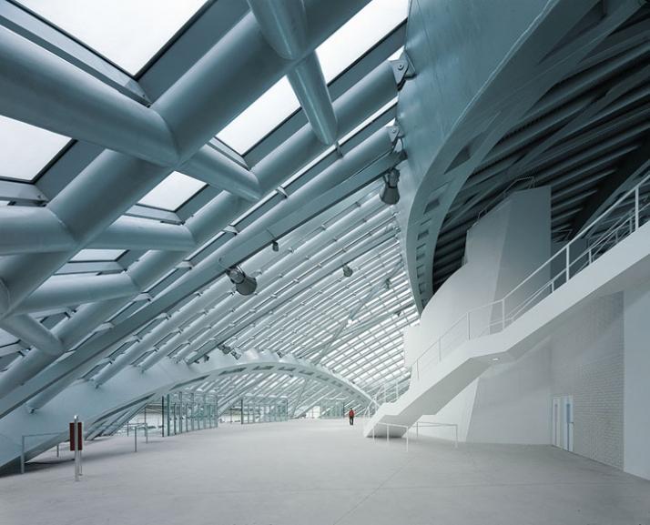 City of jaca hockey arena by coll barreu arquitectos yatzer - Arquitectos huesca ...