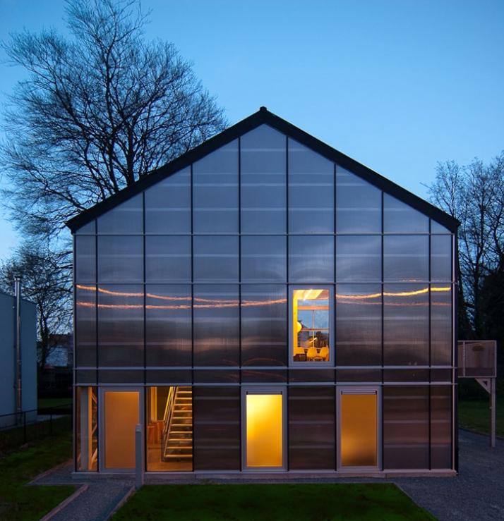 A Unique Greenhouse In Belgium Yatzer