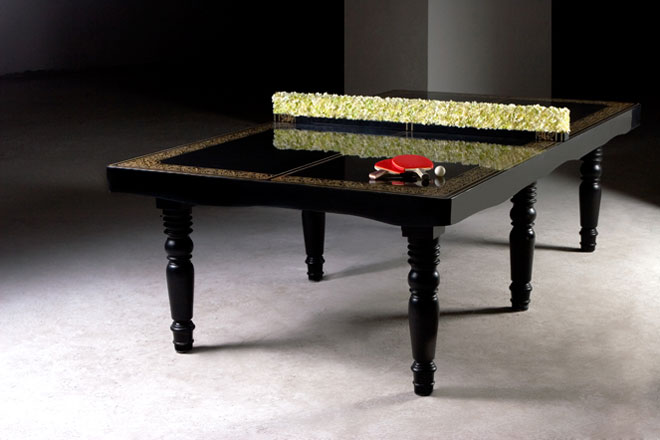 Ping pong dining table by hunn wai for mein gallery yatzer - Fabriquer une table de beer pong ...