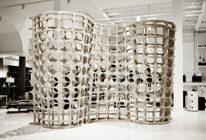 """Saturated Porosity"" by Anne Romme, winner of Time to design 2008/  photo ©  Morten Nilsson"