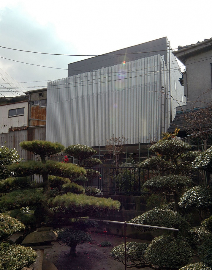 exterior view  / photo ©  Teruo Miyahara