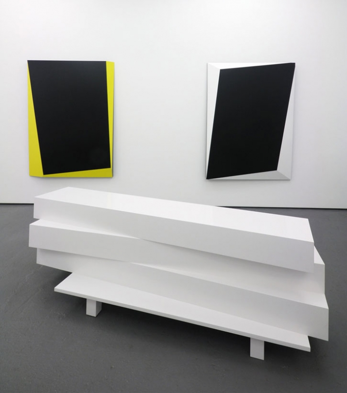2009,polyurethane Paint On MDF And Formica 81 X 82 X