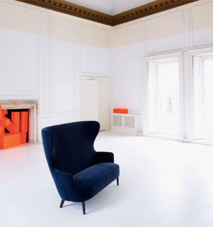 Wingback sofa by Tom Dixon