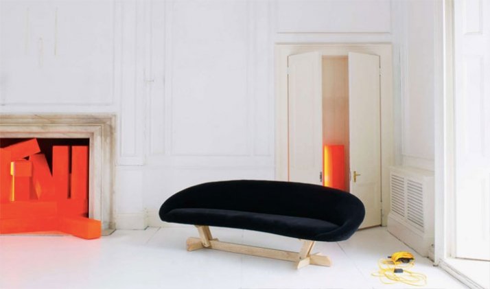 Bean sofa by Tom Dixon