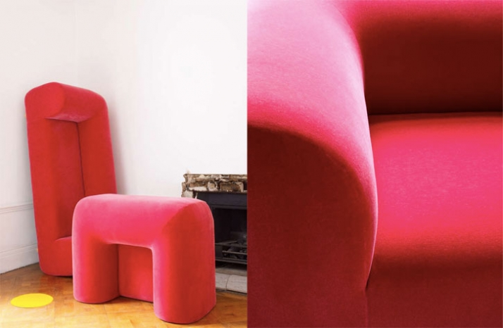 Plump chair & sofa by Tom Dixon