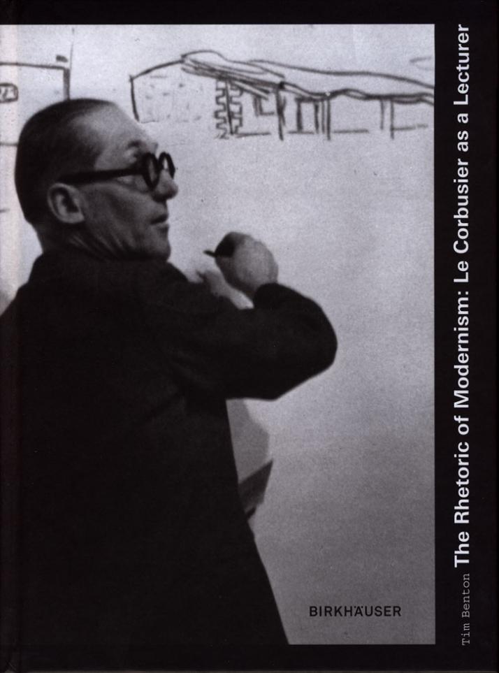 """Le Corbusier delivering his lecture """"Les relations entre l'architecture et la peinture"""" at Zurich on 12 January 1938 © photograph: Gottfried Schuh, Ar"""