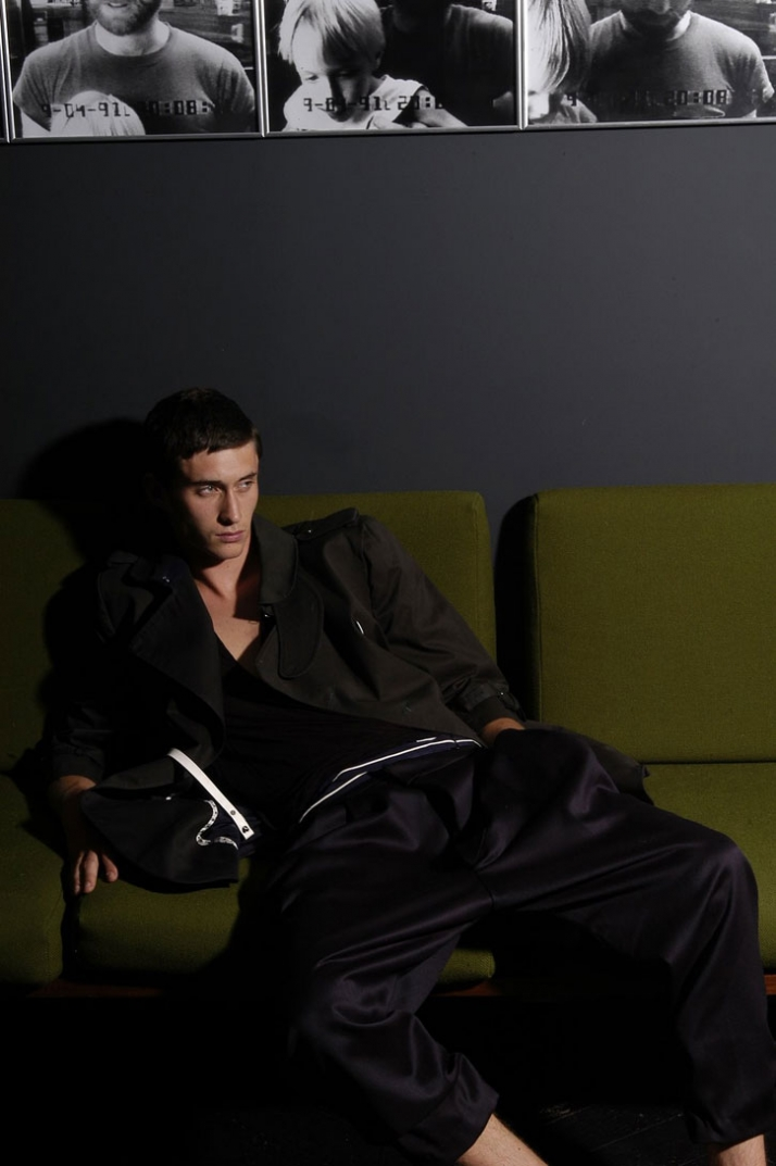 A/W 2008 collection / UNDER THE INFLUENCE SHOOT (SEPT 08 ISSUE) - photo by Mark o'Sullivan / models: Mathias & Romain