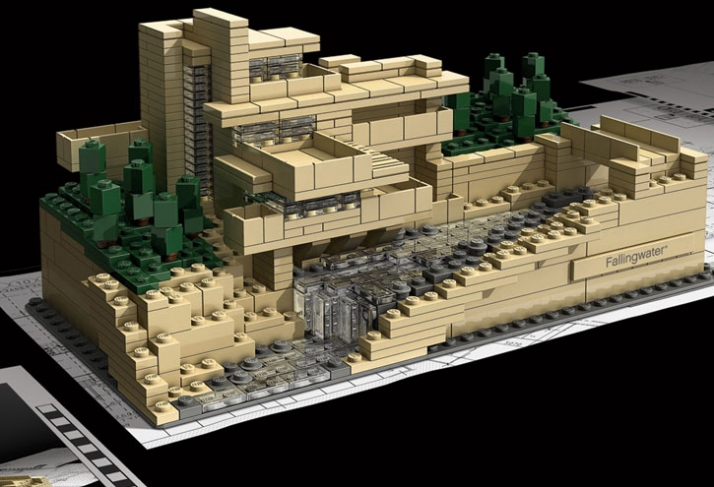 Frank lloyd wright 39 s lego architecture sets yatzer for Architecture wright