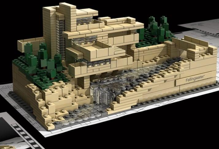 frank lloyd wright 39 s lego architecture sets yatzer