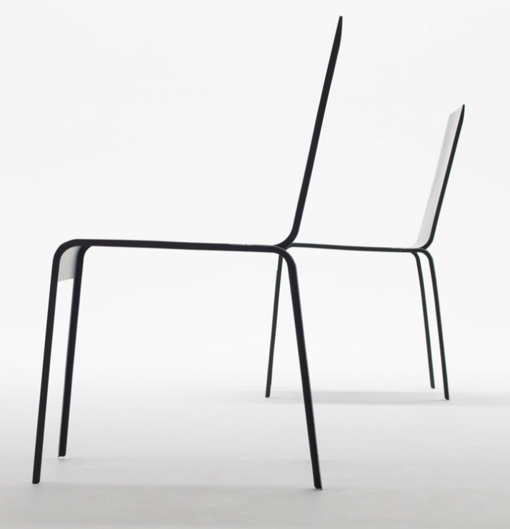 CARBON FIBER CHAIR by Sigeru Ban