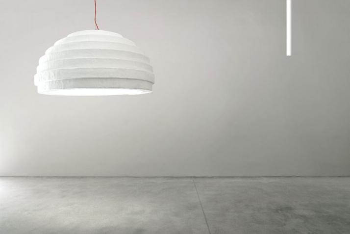 primitive ceiling light