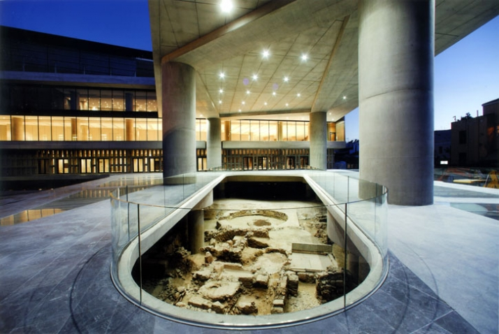 The new Acropolis Museum  Yatzer
