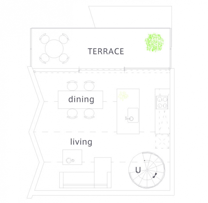 second floor /// © SUPPOSE design office