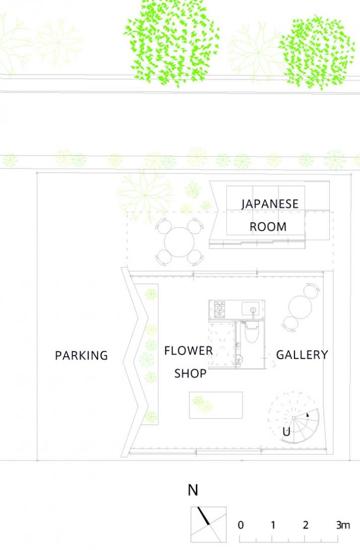 first floor /// © SUPPOSE design office