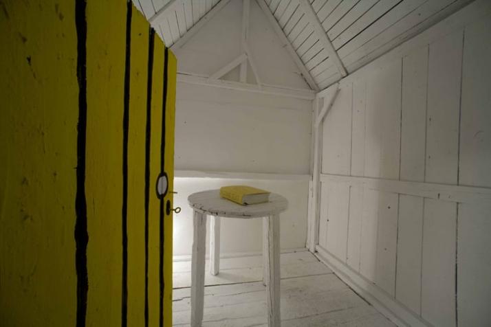 the b. symbolic house /// interior view ///photo © littll // Courtesy The Breeder