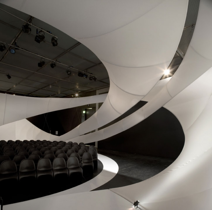JS Bach / Zaha Hadid Architects Chamber Music Hall at Manchester Art Gallery for Manchester International Festival Images courtesy of Zaha Hadid Archi