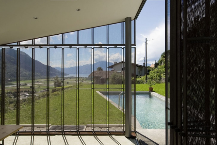 House in Ticino, Switzerland // image Courtesy of Copper Development Association