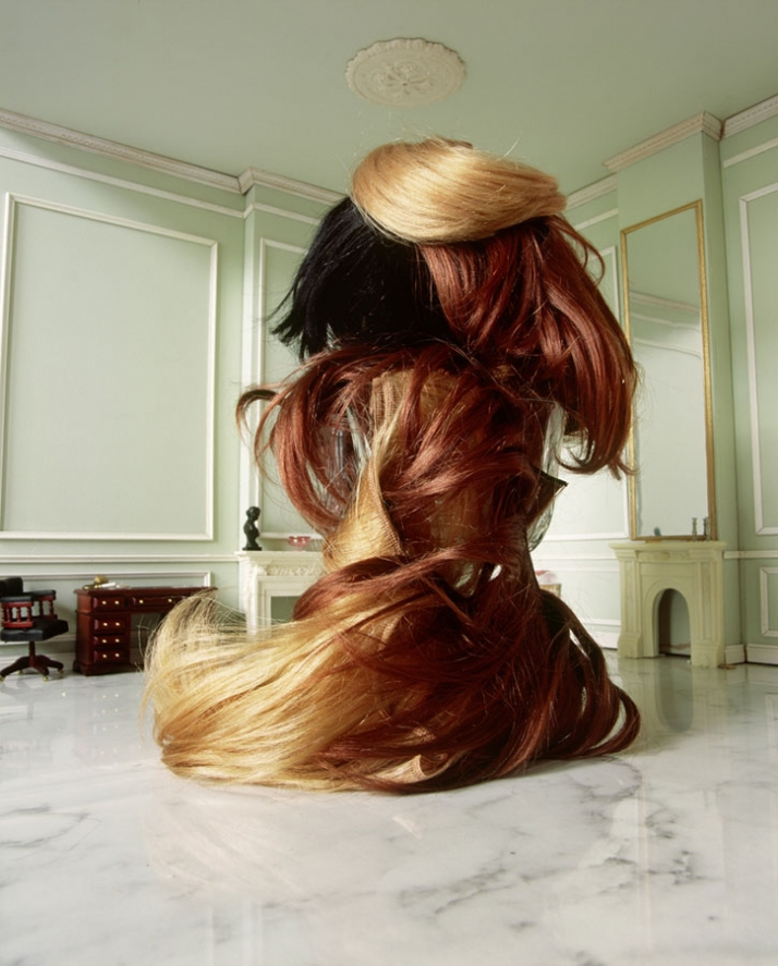 Title: Big Wig 21 Year : 2006 Material : Colour Photograph Dimensions : 151x121cm Courtesy of Xippas Gallery, Paris / Athens