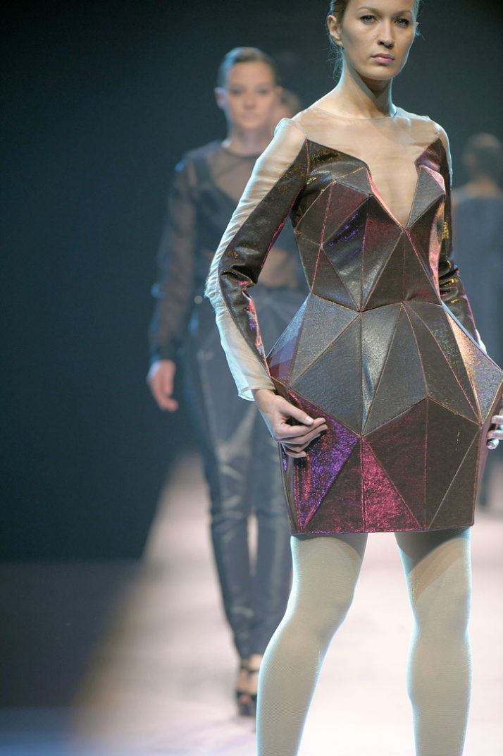 fashion designer: Irina Shaposhnikova photo © Etienne Tordoir
