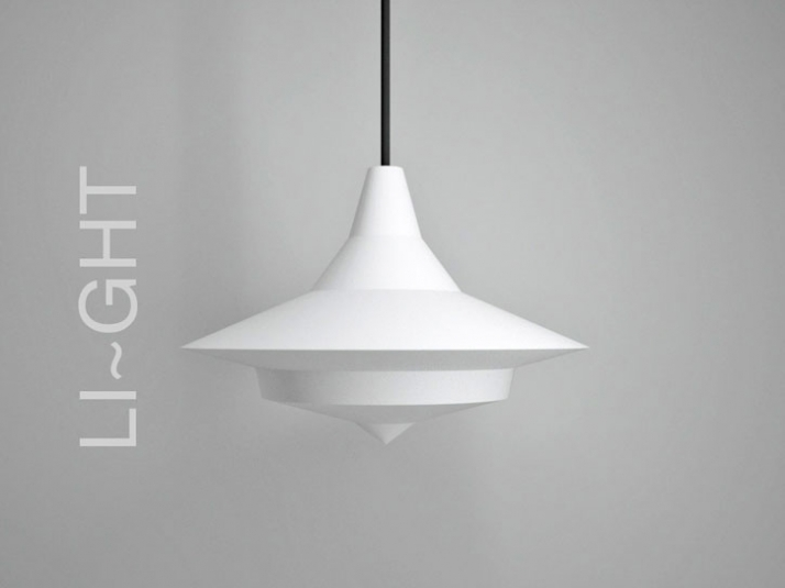 light /// material: SLS polyamide /// dimensions:  320  x 250 mm