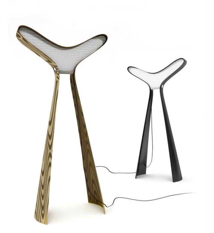 Alien lamp by Dzmitry Samal