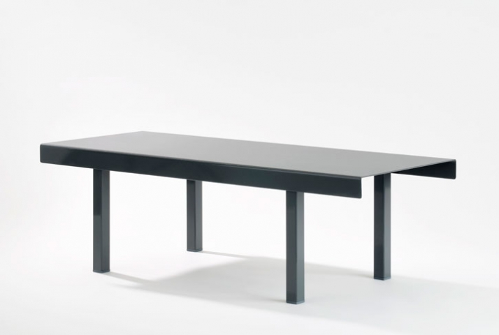 Tom Lovegrove (UK, b1982)Fold Coffee table Steel, Powder Coat, nylon Feet 45 x 100 x 30 cm