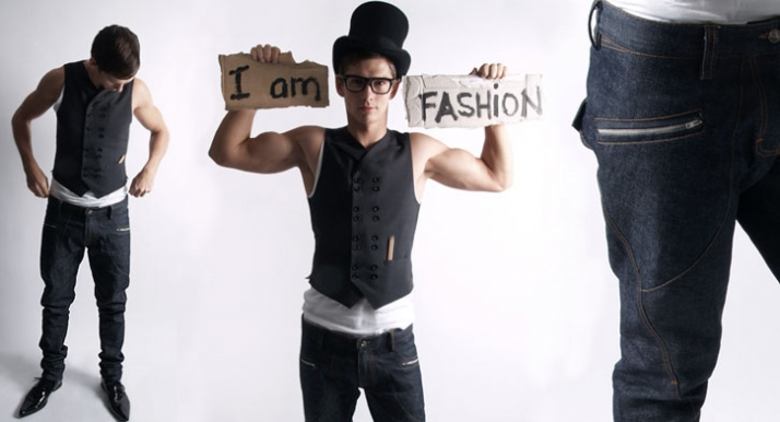 I am fashion // from 2008 gallery // Image courtesy of Trousers London © Mario Mendez