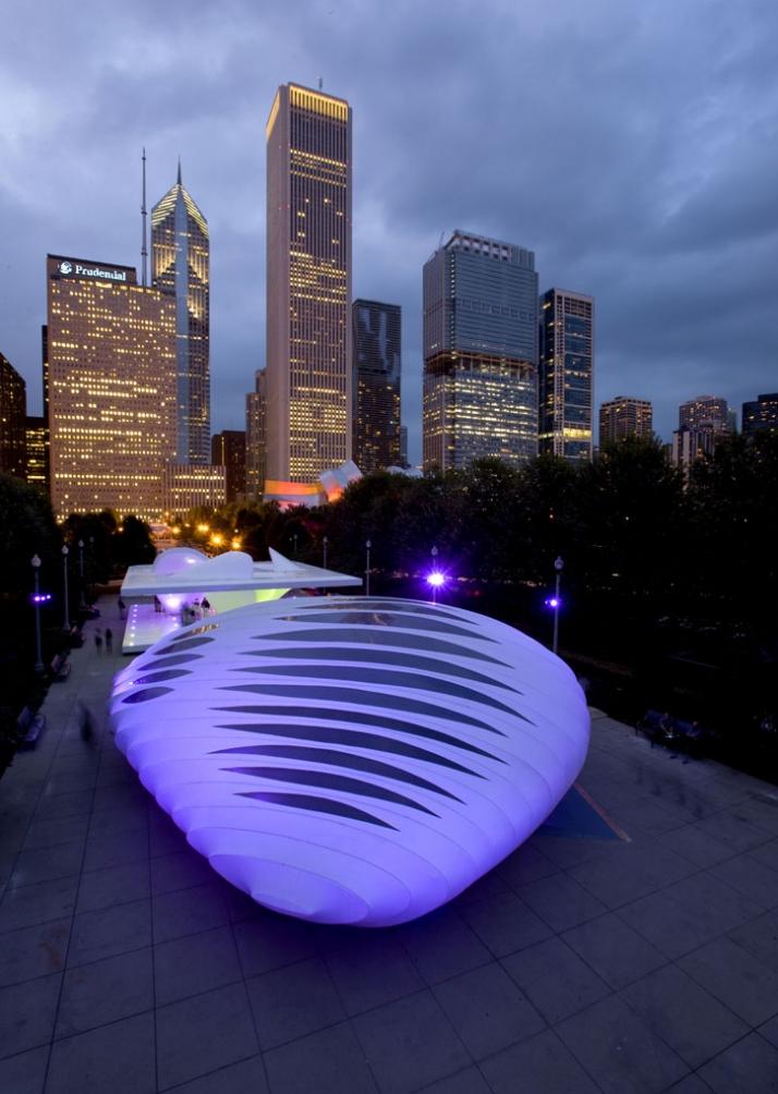 Image courtesy of Zaha Hadid Architects © Michelle Litvin