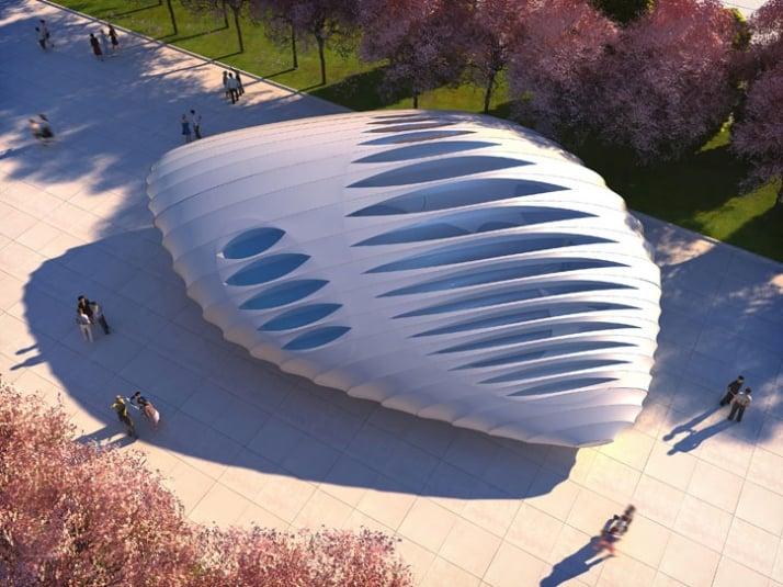 3D renders // courtesy of Zaha Hadid Architects