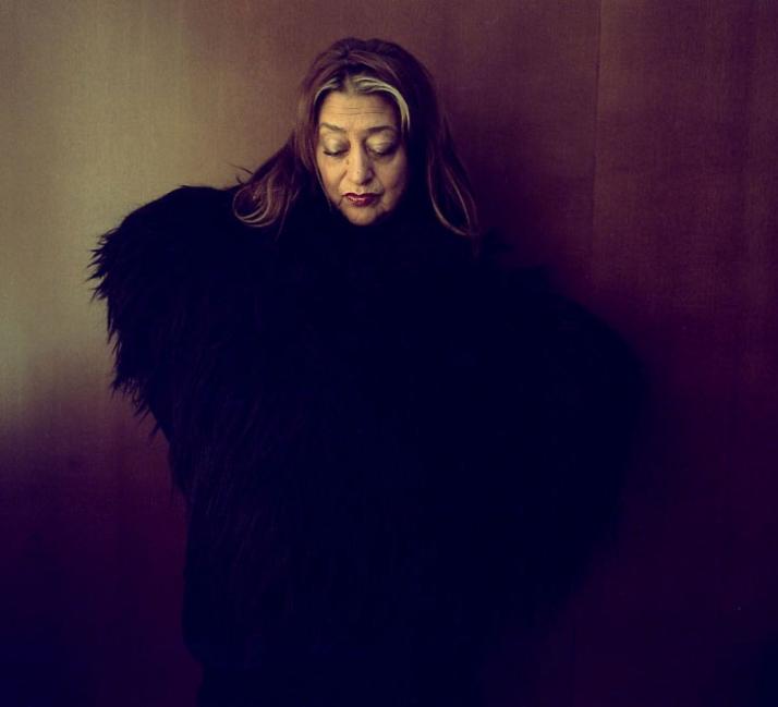 Zaha Hadid through the eyes of French photographer Gautier Deblonde photo © Gautier Deblonde