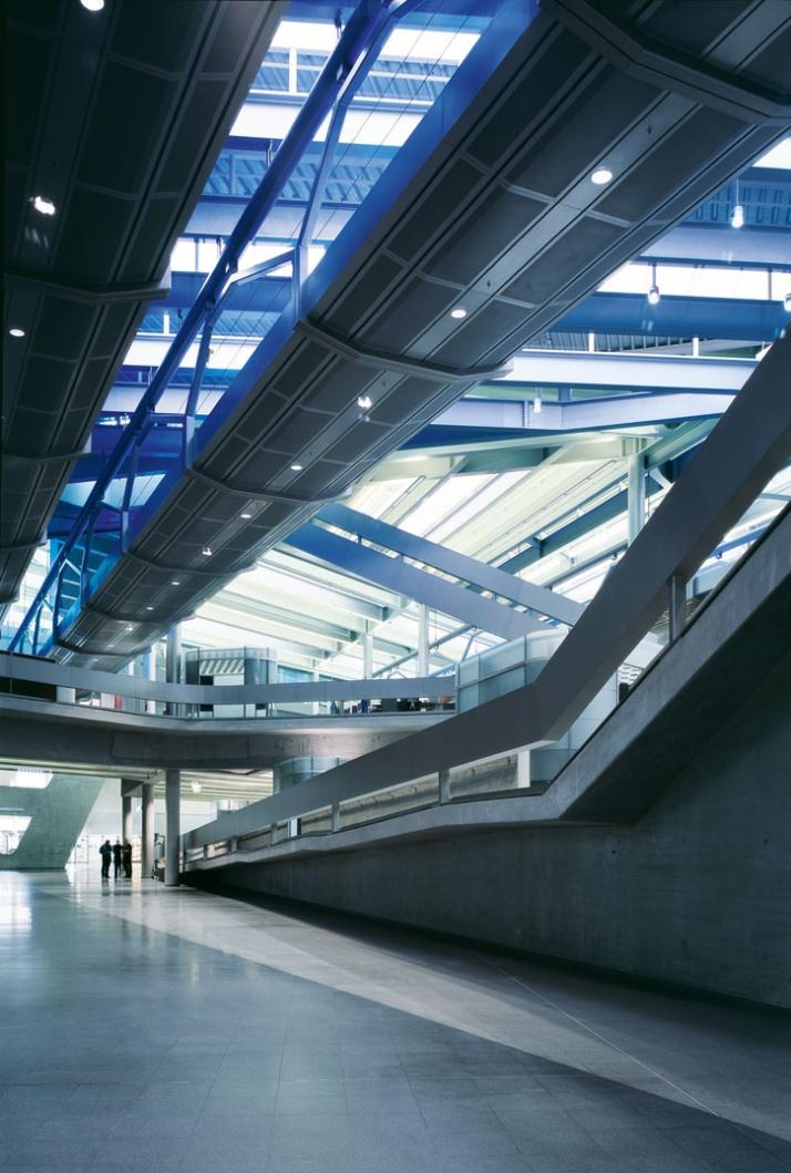 Copyright: Hélène Binet. Title: BMW Central Building, Leipzig, Germany