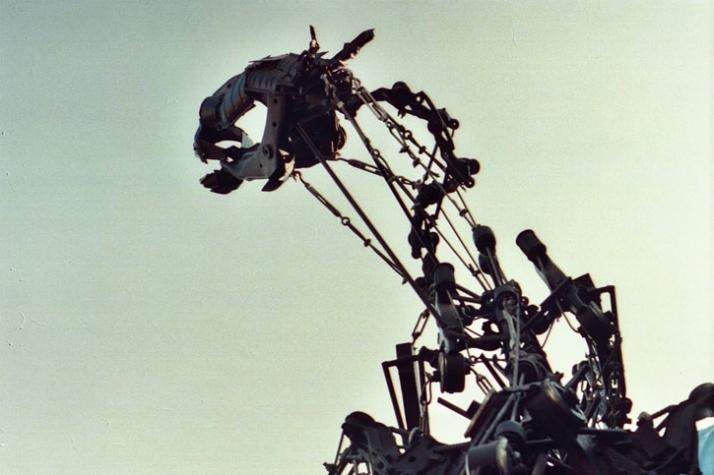 One horse power, sculpture // Dimensions H 280 cm x L 300 cm