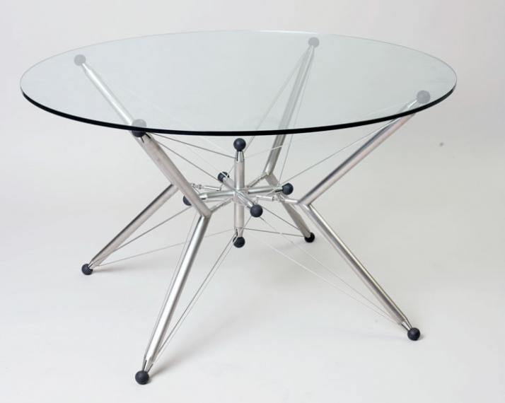 V-star H 74cm x L 74cm and 160cm diameter table top