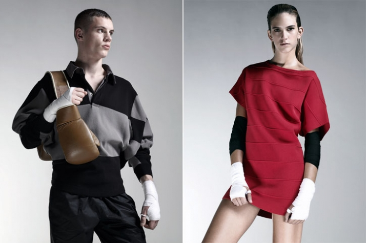 Alexander Mc Queen PUMA first Apparel collection AW 2009 (lookbook images)