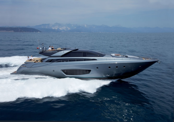 The new 86'DOMINO by RIVA Exterior photo: Jerome Kelagopian Courtesy of RIVA yacht