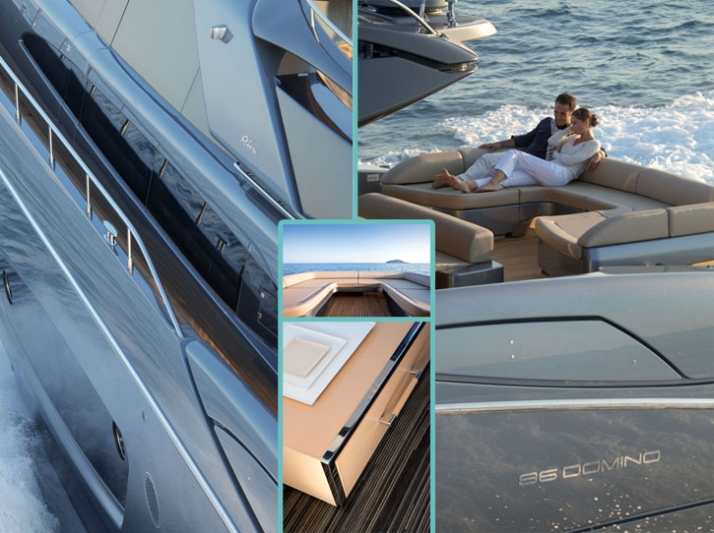 Exterior photos: Jerome Kelagopian // Interior photos: Alberto Cocchi Courtesy of RIVA yacht
