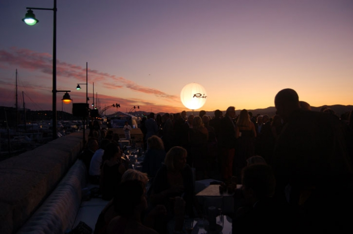 The RIVA sunset... Image courtesy of Yatzer.com