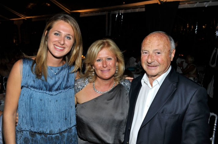 Arianna Ferrarese, Lia Riva and Jean Pierre Tuveri Image courtesy of Veuve Clicquot Ponsardin