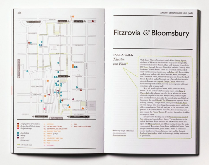 Yatzer has the honor to be in the list of the web resources of the LONDON DESIGN GUIDE 2010 Edition(the text's highlight is done by Yatzer just for th